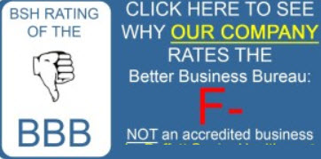 Better Business Bureau F rating